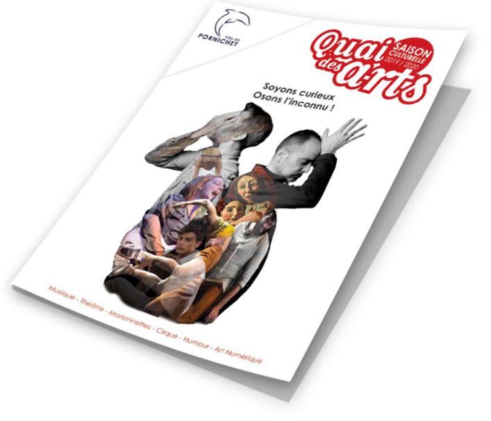 Brochure du Quai des Arts